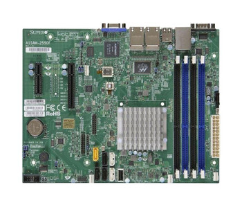 A1SAM-2550F SuperMicro Intel Atom C2550 Processors Support Socket FCBGA 1283 micro-ATX Server Motherboard (Refurbished)