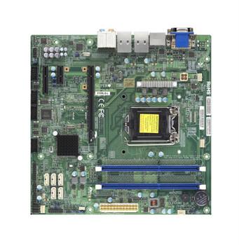 MBDX10SLQLB SuperMicro X10SLQ-L Intel Core i7/i5/i3 4th Gen Processors Q87 Express Chipset Socket LGA1150 uATX Motherboard (Refurbished)