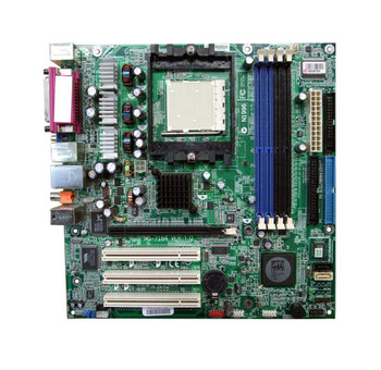6188-3246 MSI Supports 64-bit AMD Athlon64/64FX Processor Socket 939 Micro ATX Mainboard (Motherboard) (Refurbished)