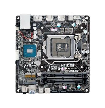 H110S1CSM ASUS Desktop Motherboard Intel H110 ChIPset Socket H4 LGA-1151 Mini-stx 1 X Proce (Refurbished)