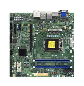 X10SLQLB SuperMicro LGA1150 Intel Q87 DDR3 SATA3&usb3.0 A&2GBe Microatx Motherboard (Refurbished)