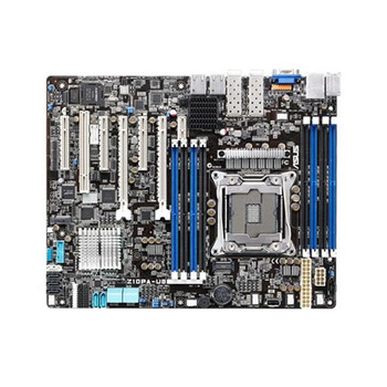 Z10PA-U8/10G-2S ASUS Socket R3 LGA 2011-3 Xeon E3-1200 v3 E5-2600 V3/ V4 Processors Support Intel C612 PCH Chipset ATX Motherboard (Refurbished)