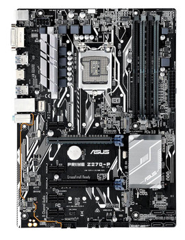 Z270-P ASUS Socket LGA 1151 Intel H270 Chipset 7th/6th Generation Core i7 / i5 / i3 / Pentium / Celeron Processors Support DDR4 4x DIMM 6x SATA 6.0Gb/