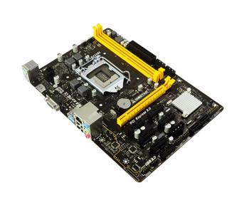 H110M-BTC Biostar Socket LGA 1151 Intel H110 Chipset Core i7 / i5 / i3 / Pentium / Celeron Processors Support DDR4 2x DIMM 4x SATA 6.0Gb/s Micro-ATX M