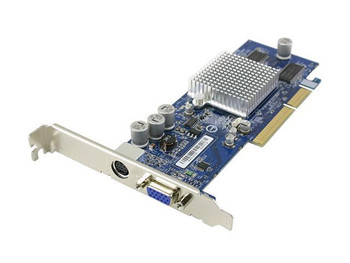 GV-R955128T Gigabyte Radeon 9550 128MB DDR SDRAM AGP 8x (2048 x 1536 Max Resolution) VGA and S-Video Connectors Video Card