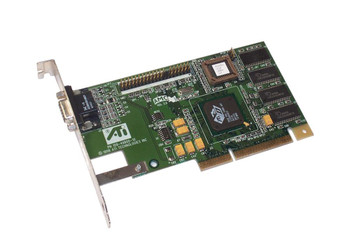 109-49800-10 ATI 3D Rage Pro Turbo 8MB VGA AGP Video Graphics Card