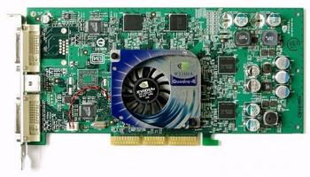 VCQ4980XGL-PB PNY Quadro4 980 XGL 128MB 128-Bit DDR AGP 4x/8x VGA DVI Video Graphics Card