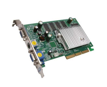 VCGFX522AEB PNY GeForce FX 5200 256MB 128-Bit DDR Dual D-Sub/ S-Video Out AGP 8X Video Graphics Card