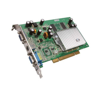 VCGFX522PEB PNY GeForce FX 5200 256MB 128-Bit DDR PCI D-SUB S-Video Out Video Graphics Card