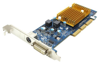 GV-N62256DP2-RH Gigabyte nVidia GeForce 6200 256MB DVI/TV-Out AGP Video Card