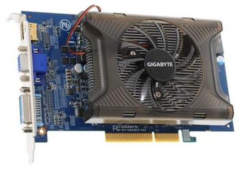 GV-R465D2-1GI Gigabyte ATI Radeon HD4650 1GB VGA/DVI/HDMI AGP Video Graphics Card
