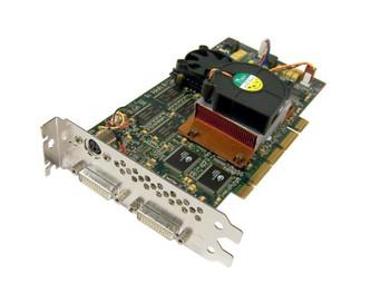 243643-001 HP FireGL4 AGP /atx Dual-dvi Video Graphics Board Evo Workstation W6000 W8000