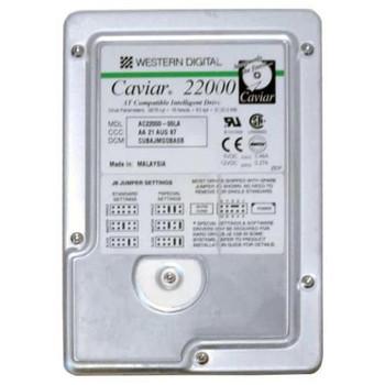 AC22000-00LA Western Digital 2GB 5200RPM ATA 33 3.5 256KB Cache Caviar Hard Drive