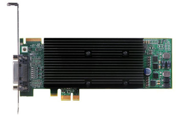 M9120-E512LAU1F Matrox M9120 Plus 512MB GDDR2 PCI Express x1 Low Profile Workstation Video Graphics Card