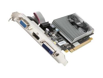 R5450-MD1G MSI Radeon 5450 1GB DDR3 PCI Express 2.1 x16 HDMI/ DVI/ VGA Video Graphics Card