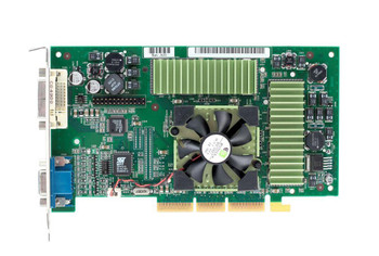 180-P0032-0100 Nvidia 128MB Agp Video Graphics Card With Vga and Dvi Outputs