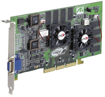 109-63200-01 ATI Rage 128 Pro 32MB AGP Video Graphics Card