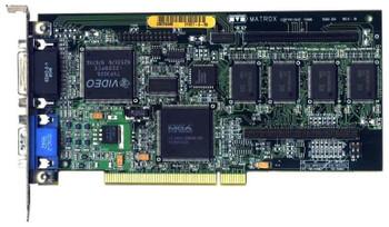 MGA-MIL/MODMC Matrox 4MB PCI VGA Video Graphics Card