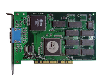 CT6240 Creative Pci Vga Card V1000-e