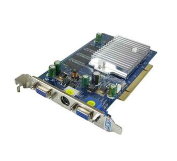 BUV7301 PNY GeForce FX5200 256MB DDR PCI Dual VGA Video Graphics Card