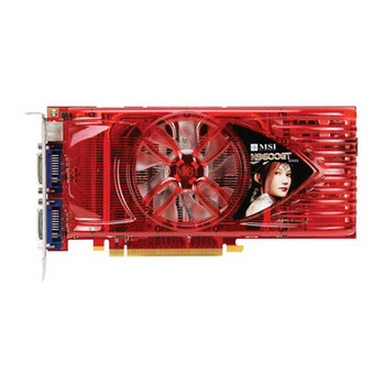 N9600GT MSI GeForce 9600 GT 512MB DDR3 256-Bit PCI Express 2.0 x16 Dual DVI/ HDTV/ S-Video Out/ HDCP Ready/ SLI Support Video Graphics Card