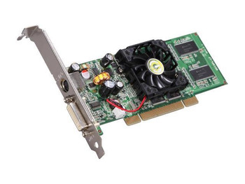 VCE128-P1-N309 EVGA GeForce FX5200 128MB PCI DVI/ S-Video Out Video Graphics Card