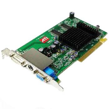 9550XL ATI Radeon 256MB DVI VGA TV-Out AGP Video Graphics Card