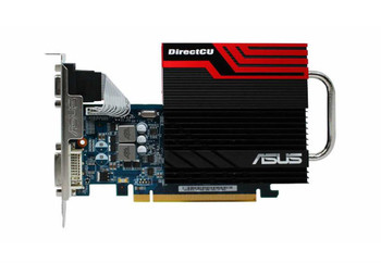 ENGT430DCSL/DI/1GD ASUS GeForce GT430 1GB 128-Bit DDR3 PCI Express 2.0 VGA/DVI/HDMI Video Graphics Card