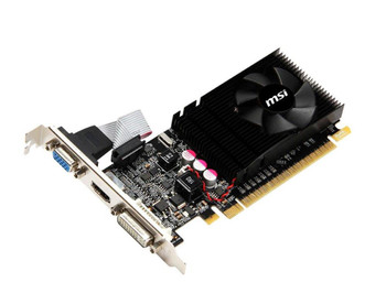 N610GT-MD1GD3LP MSI Nvidia Gt610 1GB DDR3 Pcie2.0 Dvi Hdmi