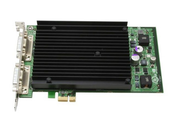 0MK597 PNY Quadro NVS 440 256MB PCI Express X16 QUAD DVI Dual Link High Profile Video Graphics Card