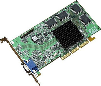 102-73116-02 ATI Rage 128 32MB VGA Ultra Low Profile AGP Video Graphics Card
