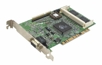 100-401021 ATI Pci Vga Card 3d Rage With Svideo And Composite Video Out