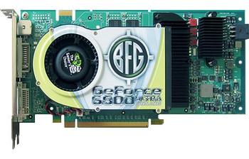 BFGR68512UOCX BFG GeForce 6800 Ultra 512MB 256-Bit GDDR3 PCI Express x16 SLI Support Video Graphics Card