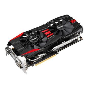 GTX780DC2OC3GD5 ASUS nVidia GeForce GTX 780 3GB GDDR5 384-Bit PCI Express 3.0 Dual DVI/ HDMI/ DisplayPort/ HDCP Ready SLI Support Video Graphics Card
