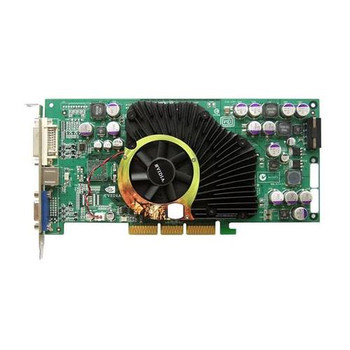 OU0842 Nvidia 128MB AGP Video Graphics Card With DVI and VGA Outputs