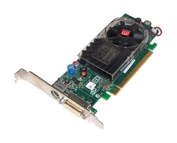 102-B27602 ATI Radeon HD2400XT Pro 256MB 128-Bit DDR2 PCI Express x16 DMS-59 S-Video/ TV-out Video Graphics Card