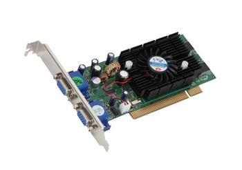 82228M/V6 Jaton Nvidia GeForce FX 5200 128MB DDR 64-Bit Dual VGA PCI Video Graphics Card