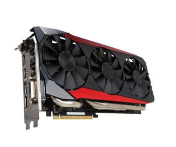STRIX-R9FURY-DC3-4G ASUS AMD Radeon R9 FURY 4GB High Bandwidth Memory (HBM) 4096-Bit DVI/HDMI/3x DisplayPort PCI Express 3.0 Video Graphics Card