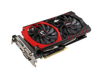 MSI-970G4G MSI NVidia GeForce GTX 970 Gaming 4GB GDDR5 256-Bit 2x DVI/HDMI/DisplayPort PCI Express 3.0 x16 Video Graphics
