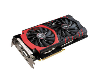 MSI-980G4G MSI NVidia GeForce GTX 980 Gaming 4GB GDDR5 256-Bit Dual Link DVI/HDMI/3x DisplayPort PCI Express 3.0 x16 Video Graphics Card