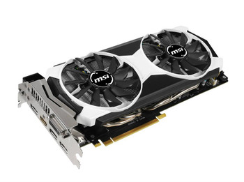 MSI9804OC MSI 4GB Nvidia GeForce GTX 980 GDDR5 256-Bit Dual Link DVI-I/ HDMI/ 3x DisplayPort PCI Express 3.0 x16 Video Graphics Card