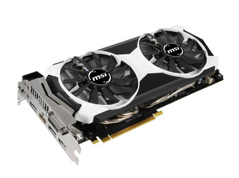 MSI-9804OC MSI 4GB Nvidia GeForce GTX 980 GDDR5 256-Bit Dual Link DVI-I/ HDMI/ 3x DisplayPort PCI Express 3.0 x16 Video Graphics Card