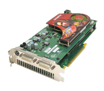GV-3D1-7950-RH Gigabyte GeForce 7950 GX2 Graphic Card 1GB GDDR3 PCI Express x16