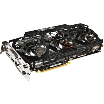GV-N780GHZ-3GD Gigabyte GeForce GTX 780 Graphic Card 1.02 GHz Core 3GB GDDR5 PCI Express 3.0 Dual Slot Space Required