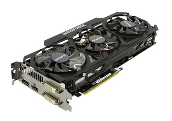 GV-N78TOC-3GD Gigabyte GeForce GTX 780 Ti Graphic Card 1.02 GHz Core 3GB GDDR5 PCI Express 3.0 Dual Slot Space Required