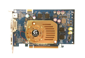 GV-NX66T128D Gigabyte GeForce 6600 GT Graphic Card 500 MHz Core 128 MB DDR3 SDRAM PCI Express x16