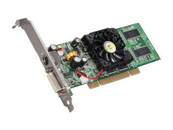 128-P1-N309-LA EVGA GeForce FX5200 128MB DDR 64-bit PCI Video Graphics Card