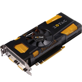 ZT-50705-10M Zotac GeForce GTX 560 Graphic Card 820 MHz Core 2GB GDDR5 PCI Express 2.0 x16 Dual Slot Space Required