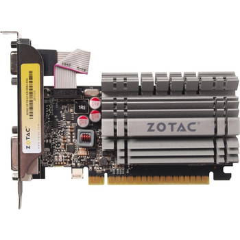 ZT-71115-20L Zotac GeForce GT 730 Graphic Card 902 MHz Core 4GB DDR3 SDRAM PCI Express 2.0 x16 Single Slot Space Required