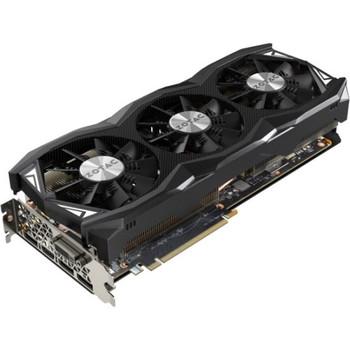 ZT-90504-10P Zotac GeForce GTX 980 Ti Graphic Card 1.18 GHz Core 1.28 GHz Boost Clock 6GB GDDR5 PCI Express 3.0 Dual Slot Space Required